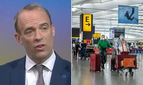 Raab defends quarantine exemption for vaccinated EU and US travellers