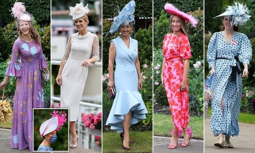 Glamorous racegoers pull out all the stops on last day of Royal Ascot