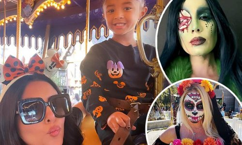 Halloween fever! Vanessa Bryant, Halsey and others play dress up