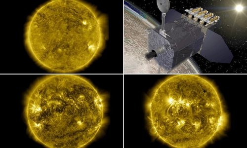 NASA releases incredible 10-year time lapse of the Sun