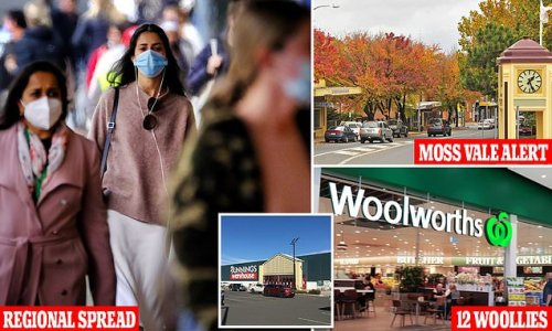 Woolworths worker Covid positive, virus reaches NSW regions