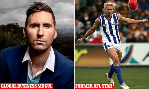 Footy star sells his tech business for $205million