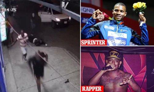 Shocking moment gunmen ambushed and executed Ecuadorian sprinter