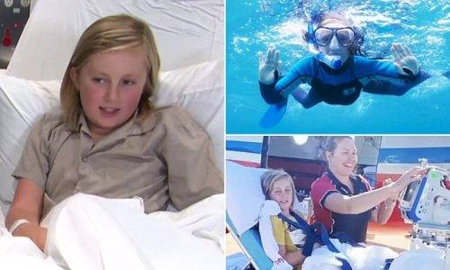 WA boy recalls the horrific moment he was mauled by a shark