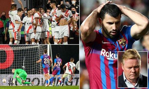 Rayo Vallecano 1-0 Barcelona: Radamel Falcao scores first-half winner