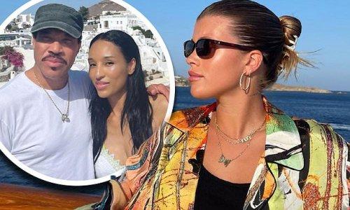 Sofia Richie documents her luxurious Greek getaway with dad Lionel