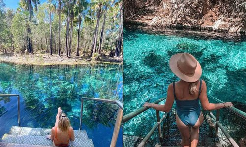 How to visit crystal clear waters dubbed Australia's best hot springs
