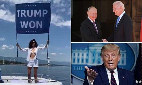 Osama bin Laden's pro-Trump niece protests Joe Biden's Geneva summit