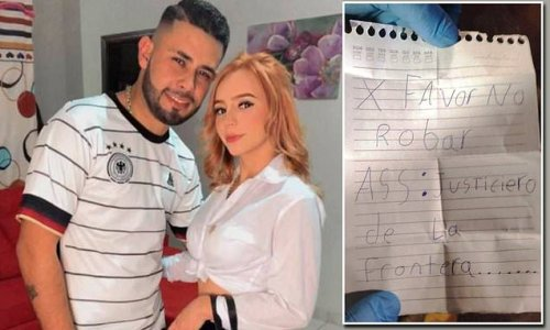 Brazilian gang left 'do not steal' note near couple killed in Paraguay