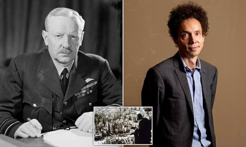 Malcolm Gladwell doubles down on claim Bomber Harris was 'psychopath'