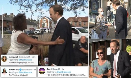 Matt Hancock's comeback video met with ridicule online