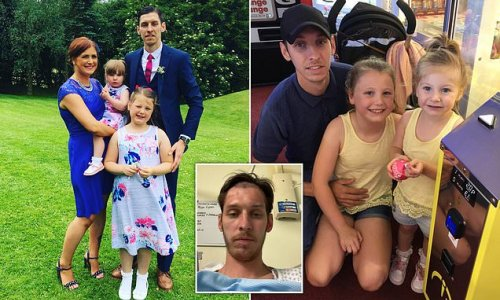 Family spend last Father's Day together as dad brain tumour diagnosis