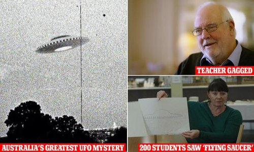 The incredible 1966 cover-up of Australia's biggest UFO group sighting