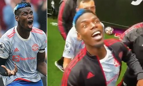 Pogba dragged away after reacting to abuse from West Ham fans