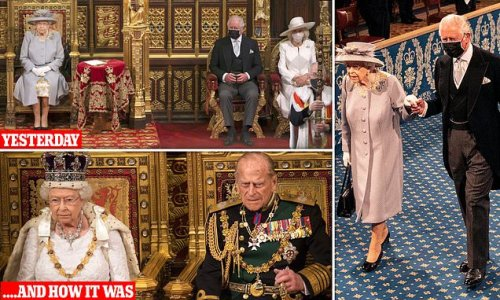 HENRY DEEDES: Could there be more poignant symbol of Queen's loss?