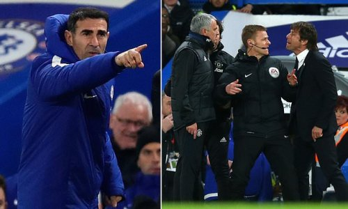 Conte's ex-assistant: Jose Mourinho row was 'blown out of proportion'