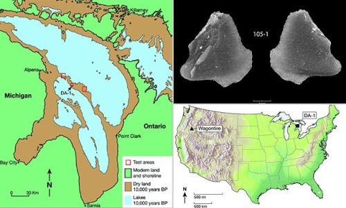 9,000 year-old stone artifacts discovered in Lake Huron