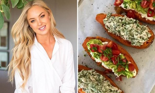 Nutritionist shares her 'lazy' recipe for stuffed sweet potatoes