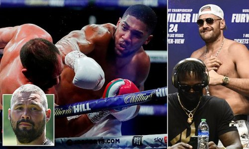 AJ is 'on another level' compared to Fury and Wilder, insists Bellew