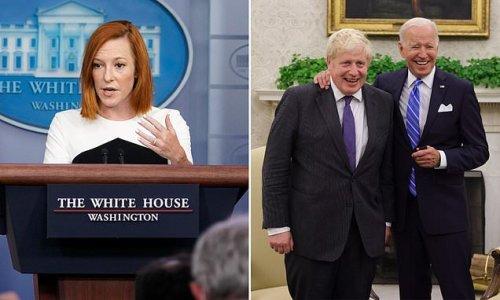 Jen Psaki reprimands Boris Johnson as she blames him for chaos in Oval