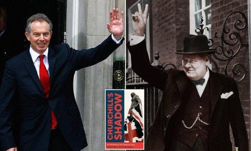 GEOFFREY WHEATCROFT: How Tony Blair hijacked Churchill's legacy