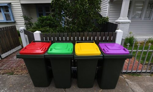 All Victorian households will have to sort their waste into four bins