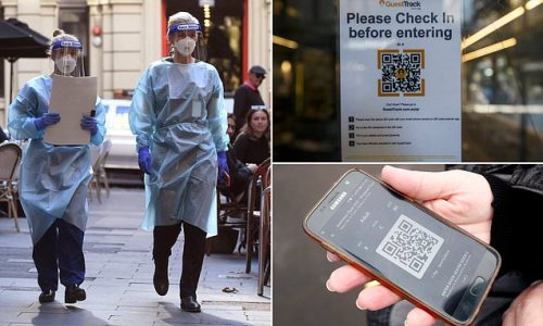 States to fine businesses and customers who don't use QR scans
