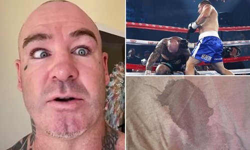 Boxer floored by Paul Gallen reveals 'evidence' he DIDN'T throw fight