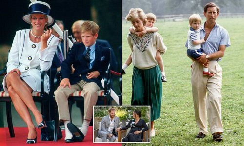 Why does Prince Harry always make Charles the villain?