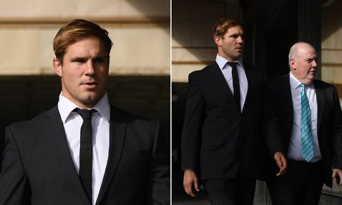 Jack de Belin's rape accuser grilled in court