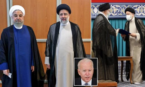 'Butcher of Tehran' is inaugurated as president of Iran