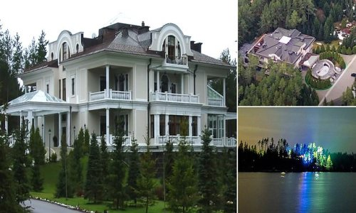 Welcome to 'Vladimir Putin's most secret official dacha'