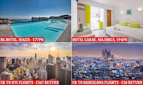 Double-jabbed? Holiday and flight bargains for amber-list countries