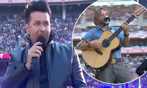 AFL pre-game entertainment gets VERY mixed reviews
