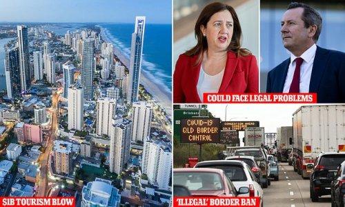 Experts say premiers keeping borders shut are breaking Australian law