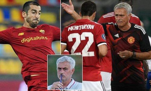 Roma's Mkhitaryan says he has buried the hatchet with Jose Mourinho