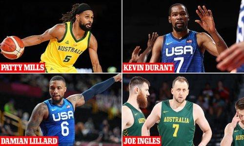 Australia's basketball team face off against Olympic favourites USA