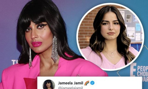 Jameela Jamil BLASTS Addison Rae's forthcoming film He's All That