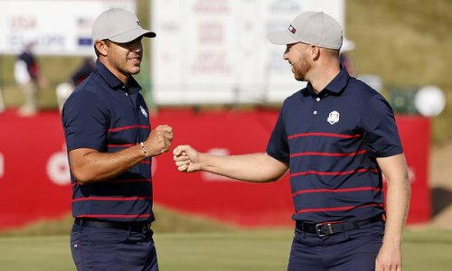 Ryder Cup: Team USA dominates foursomes to hold 3-1 lead