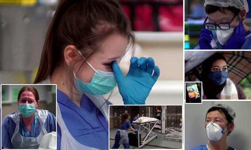 Hospital mortician breaks down at 'conveyor belt' of dead bodies