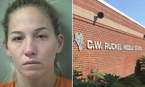 Female middle school teacher arrested again on sexual battery charges