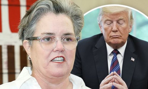 Rosie O'Donnell on President Trump: 'I pray to God he does' time