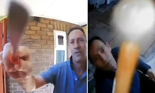 Man caught on camera trying to damage his neighbour's doorbell camera