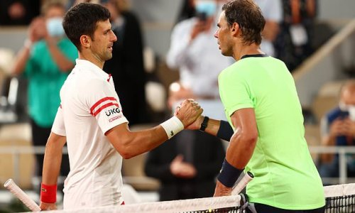 Rafael Nadal tells Novak Djokovic off for hurling racket at Olympics