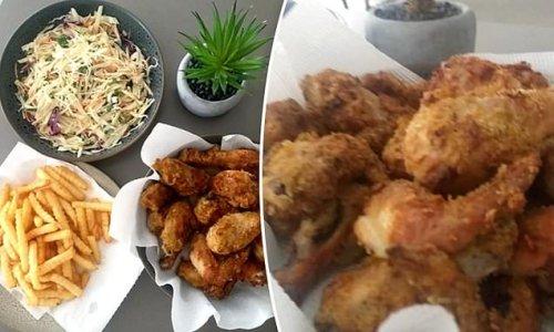 Mum's homemade fried chicken recipe wows online