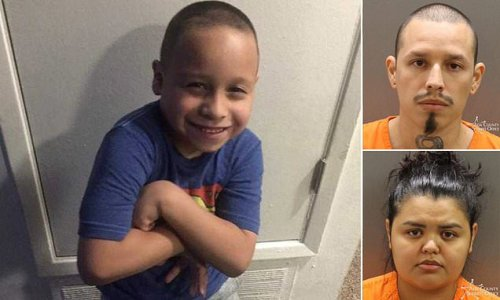 Court hears horrific 'torture' of boy, 9, who 'was starved to death'