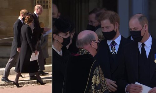 Harry said to William Philip's funeral was as he would have wanted'