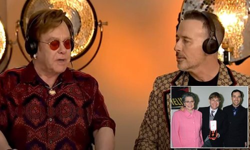 Elton John reveals his mother 'was so against' his civil partnership