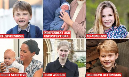 What the royal children's birthdays say about their personalities