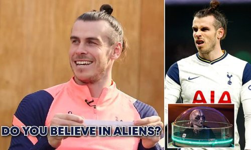 Gareth Bale reveals bizarre fascination with aliens and UFOs